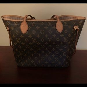 Louis Vuitton Neverfull MM Tote Purse